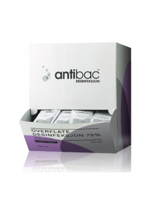 Antibac servietter til overflader og visirer, 75%, 150 stk wipes