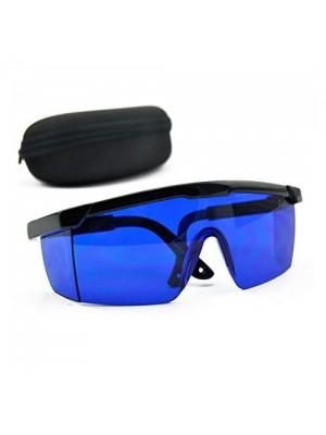 Beskyttelsesbriller til laser, blå, 600-700 nm