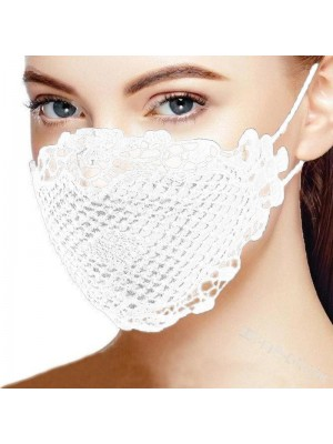 Blondemaske, hvid