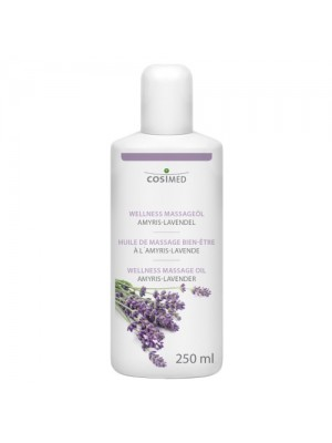 Wellness Massageolie, Cosimed Amyris-Lavendel, 250 ml