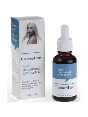 Hyaluronsyre serum, CosmetiLine, 30 ml