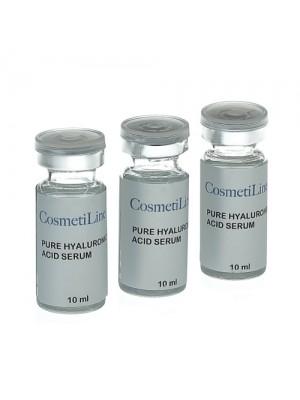 Hyaluronsyre serum, CosmetiLine, 3x 10 ml
