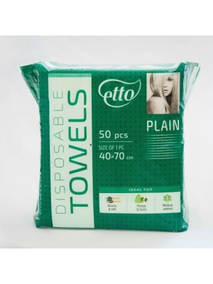Engangs håndklæder, Etto, Plain, 50 stk