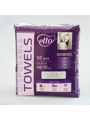 Engangs håndklæder, Etto, Diamond, 50 stk