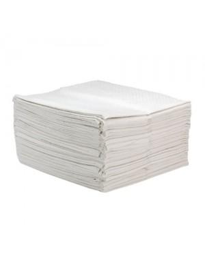 Papirhåndklæder, fnugfri, 3 lag, 50 stk
