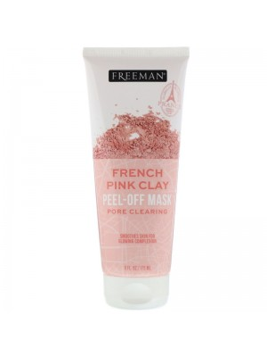 French Pink Clay Peel-Off Beauty Mask, 175 ml, Freeman Beauty