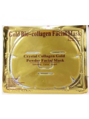 Guld collagenmaske, 10 stk