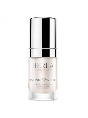 Infinite White Intense Depigmenting Serum Solution, HERLA, 15 ml