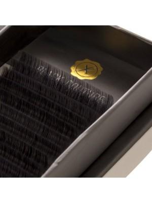 Premium Natural Silk Lash C Curl, 6-15, 0.15 mm