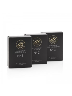 LLX Fast Set Lotion 3 til Lash Lift, 10 sachets
