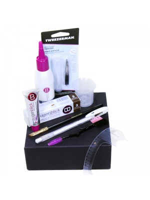 Luxury Home Brow Kit by Lash eXtend, Light Brown