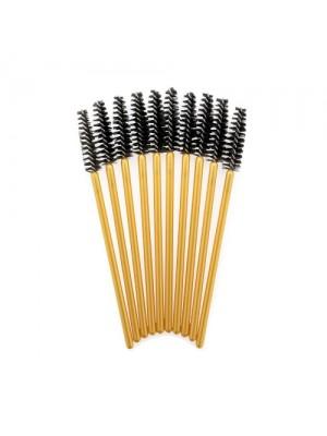 Lash eXtend Mascara Brushes, guld, 10 stk.