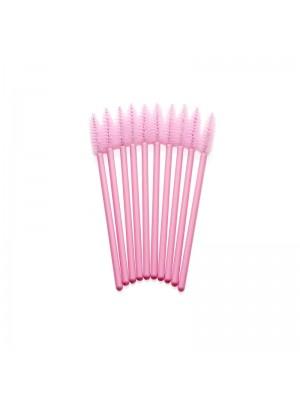 Lash eXtend Mascara Brushes, pink/pink, 10 stk.