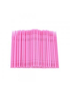 Mikrobørster, 100 stk pink