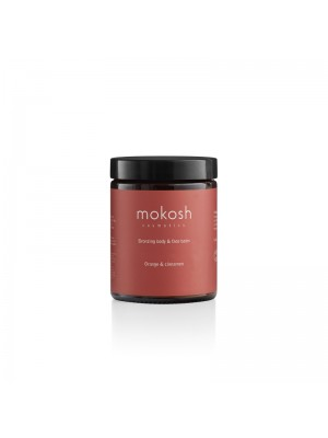 Bronzing Body & Face Balm Orange & Cinnamon, 180 ml, Mokosh