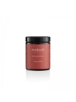 Bronzing Body & Face Balm Orange & Cinnamon, 180 ml + 30 ml gratis, Mokosh