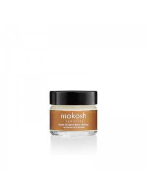 Lifiting Face Mask - Oat & Bamboo, 15 ml, Mokosh