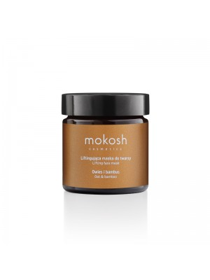 Lifiting Face Mask - Oat & Bamboo, 60 ml, Mokosh