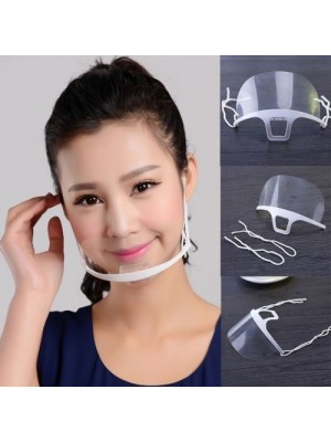 Transparent mundmaske