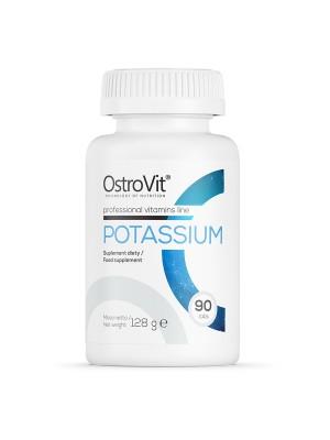 Potassium, Kalium, 90 tabletter, OstroVit