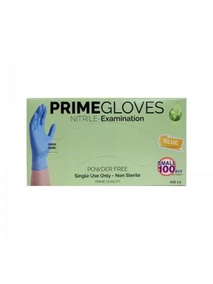 Nitril handsker, Blå, Small, 100 stk, PrimeGloves