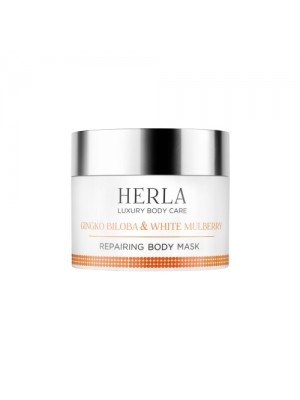 Gingko Biloba & White Mulberry Body Mask, HERLA Luxery Body Care, 200 ml