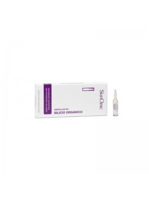 SkinClinic Organic Silicon Ampoules, 10 x 5 ml