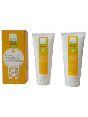Skin's Nohair After Sun, 2x100 ml, Special Promo Kit