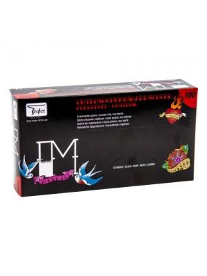 Nitril handsker, Teqler, PMU, Sorte, Str. S