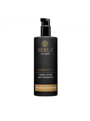 Thermactiv Thermo-Active Body Massage Oil, HERLA, 400 ml