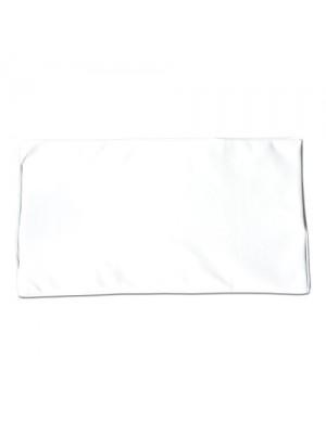 Underlag til massagebriks, hvidt
