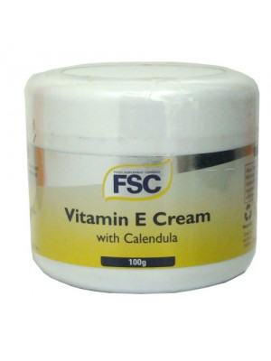 Vitamin-E Cream with Calendula, 100 g